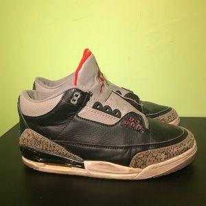 Jordan 3 Retro Black Cement 2011 ⛹️♂️